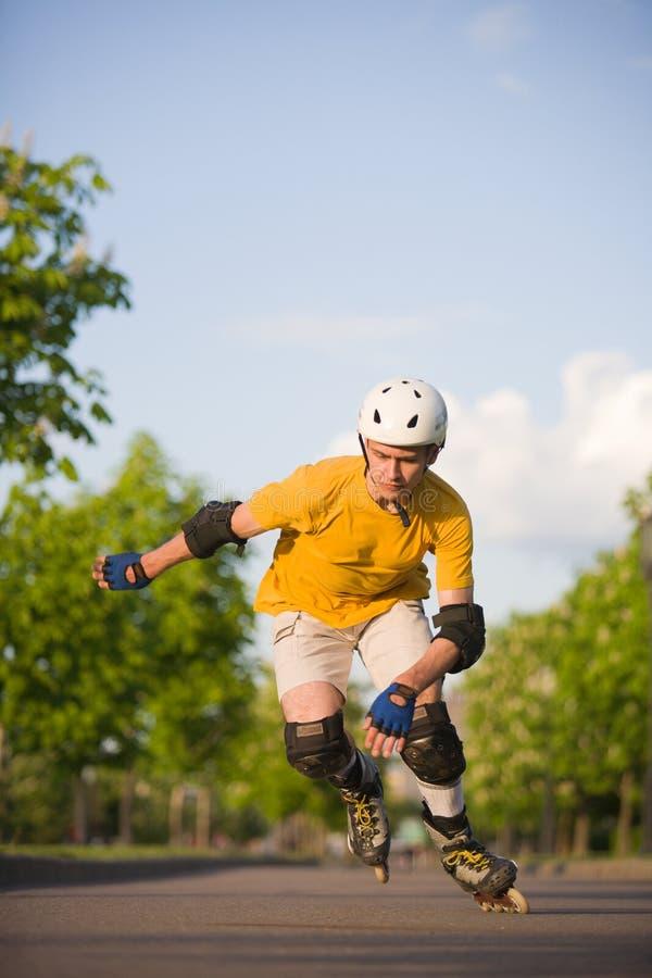 Rollerblading στοκ εικόνες