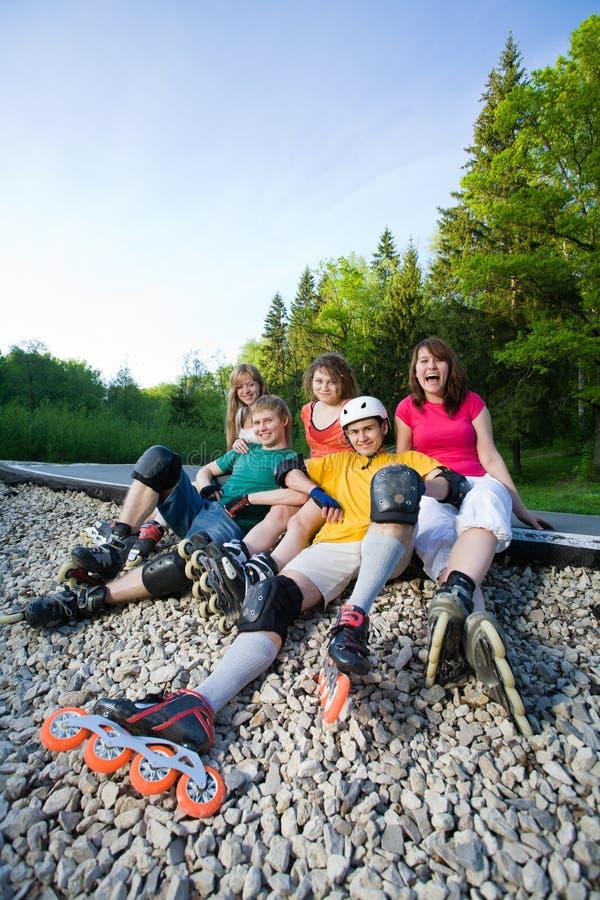 Rollerblading στοκ φωτογραφίες με δικαίωμα ελεύθερης χρήσης
