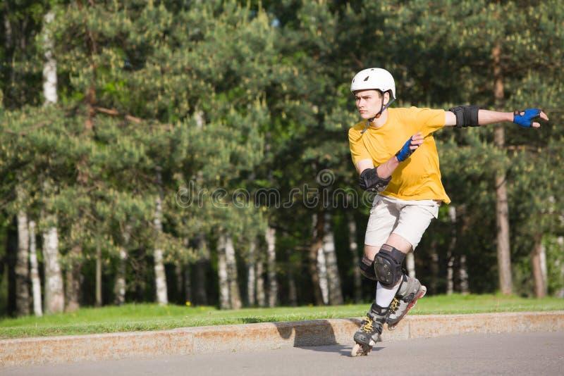 Rollerblading στοκ φωτογραφία