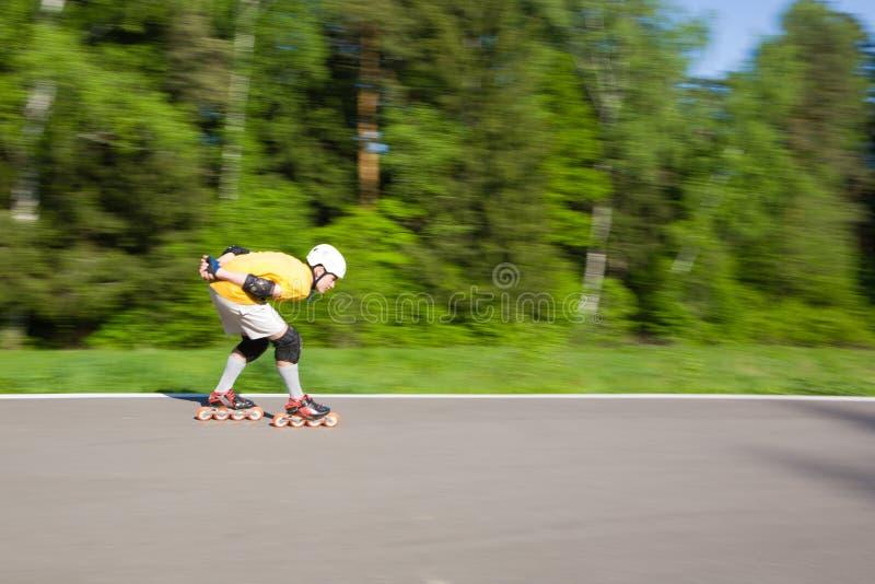 Rollerblading στοκ εικόνα