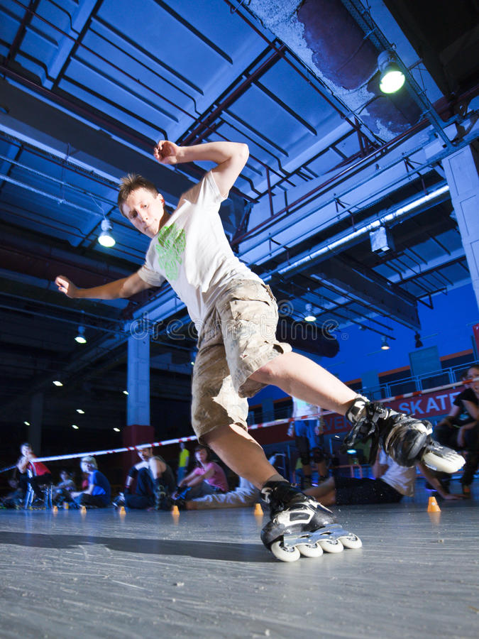 Download Rollerblading competition editorial photo. Image of expression - 18259011