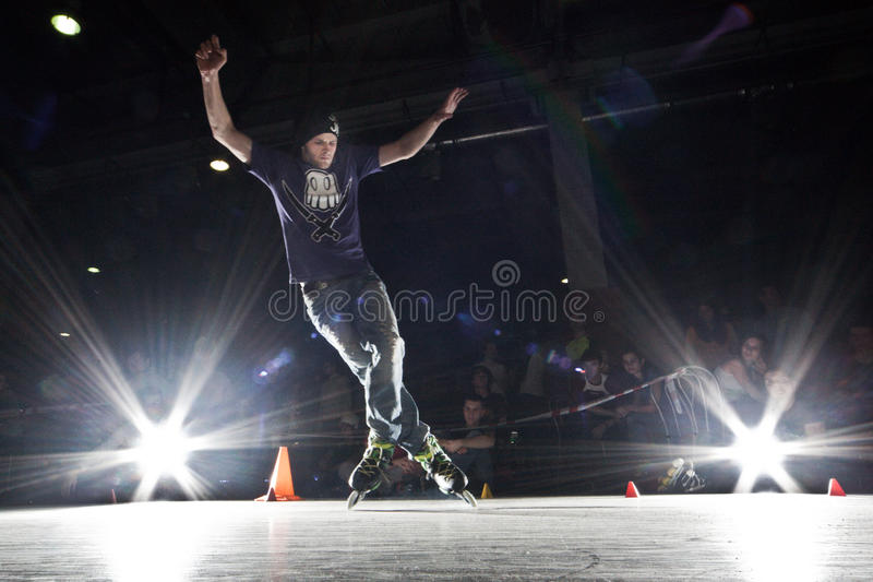 Download Rollerblading competition editorial photo. Image of active - 19073691