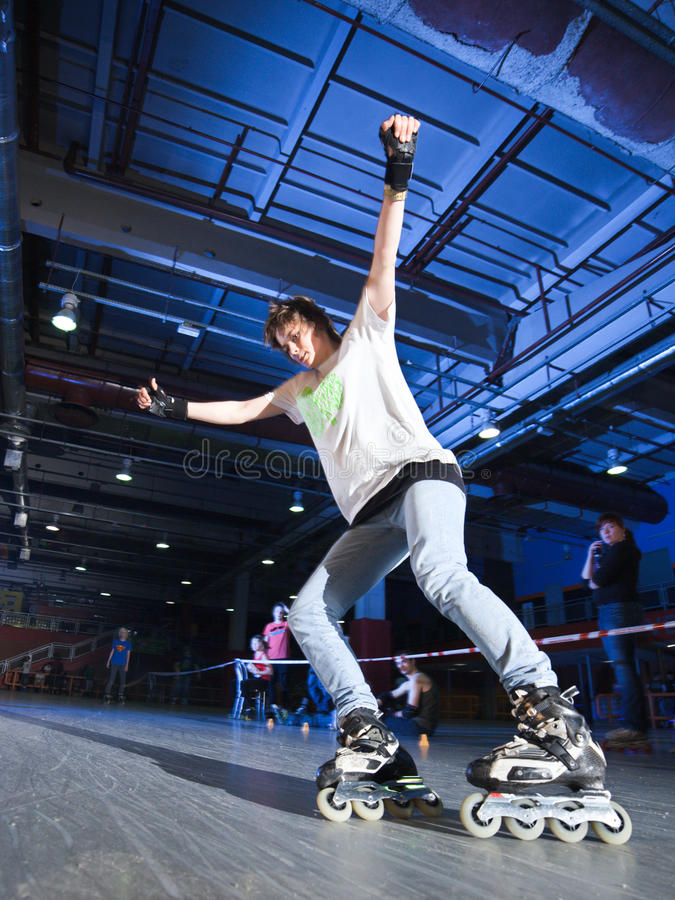 Download Rollerblading competition editorial stock image. Image of roll - 22317789