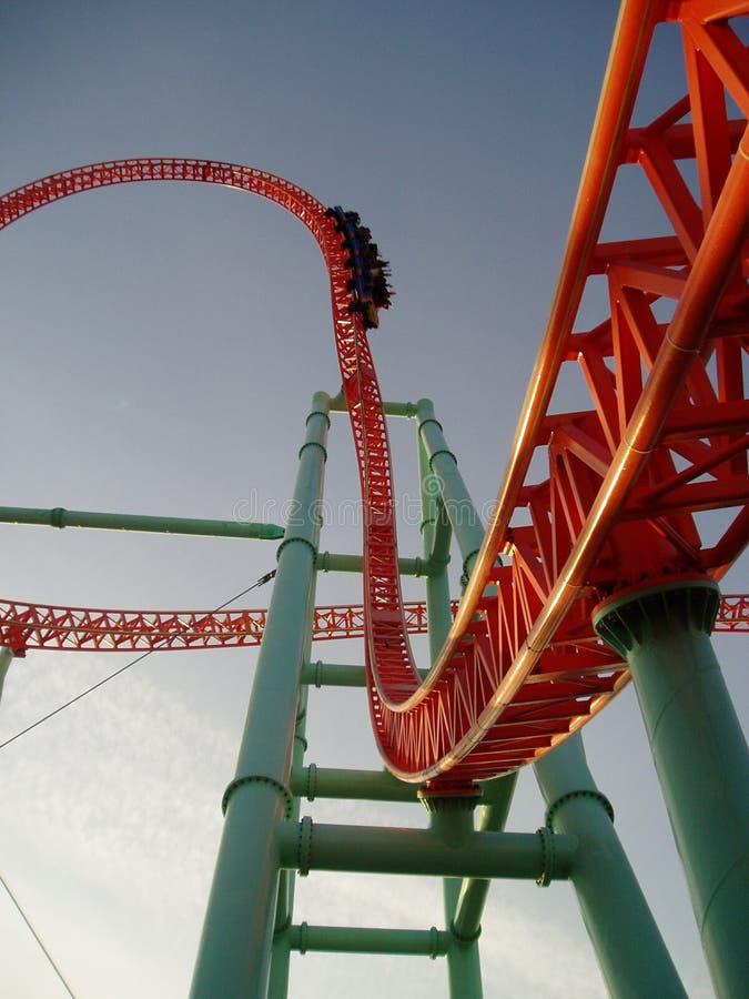 rollercoaster arkivfoto