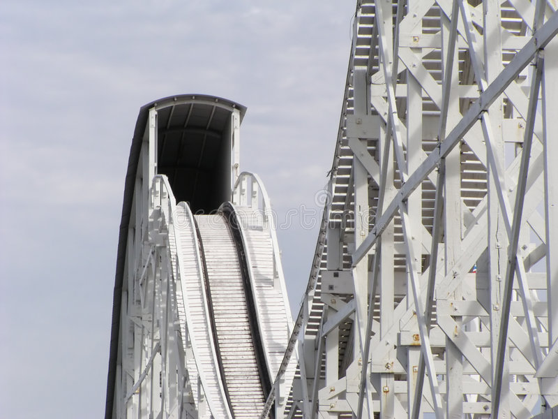 Rollercoaster royalty free stock image
