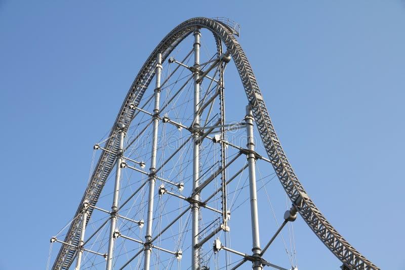 Rollercoaster royaltyfri fotografi