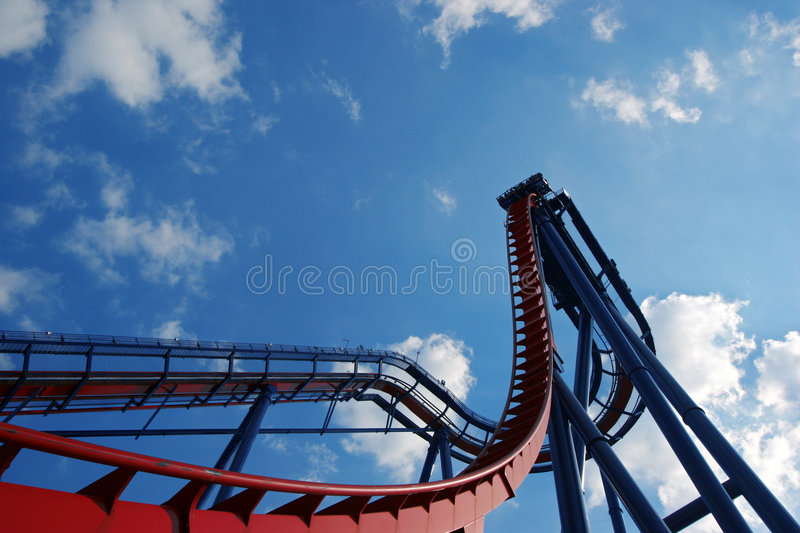 Download Rollercoaster Royalty Free Stock Photography - Image: 658327