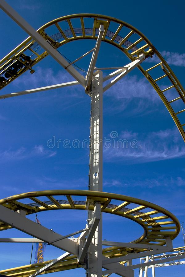 Download Rollercoaster stock image. Image of down, ferris, action - 7979707