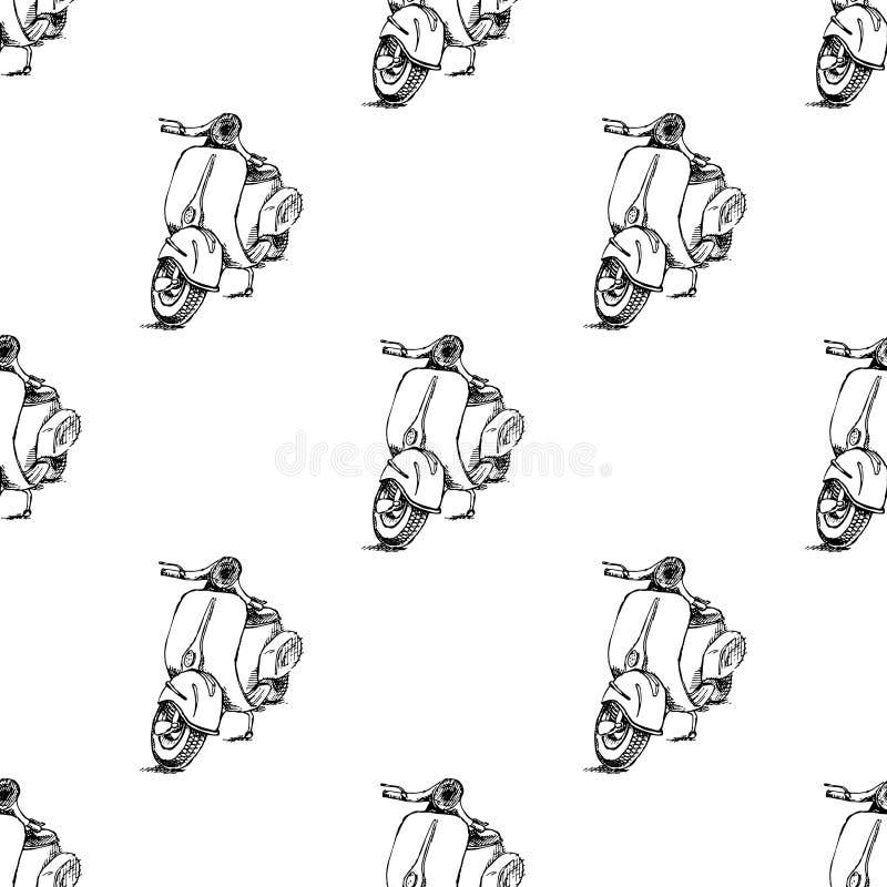 Rollermotorrad Vespa lizenzfreies stockfoto