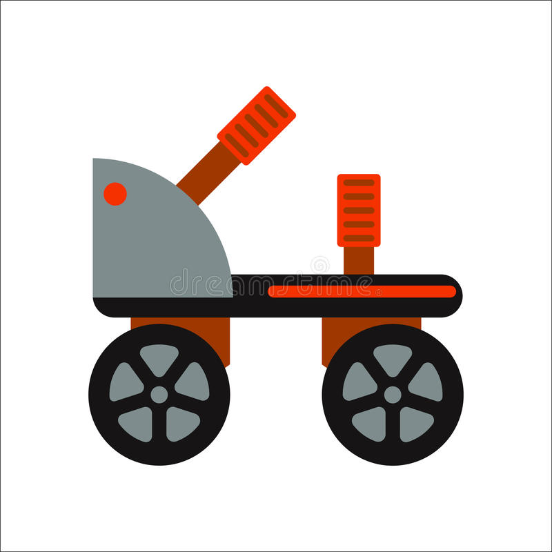 Rollers boot icon isolated. Roller skate boot icon silhouette shoe wheel design vector illustration. Sport roll activity graphic retro kid leisure. Extreme young vector illustration