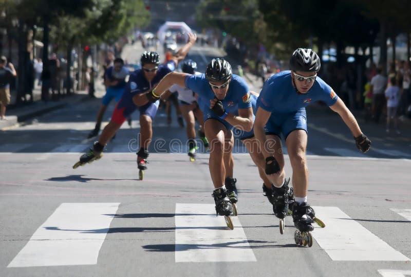 Rollerskates Ras-23 Redactionele Foto