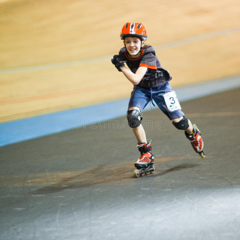 Download Rollerskating competition editorial stock photo. Image of protective - 14438373