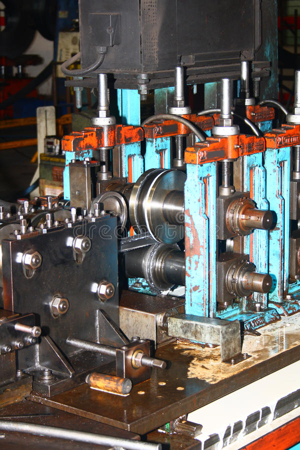 Download Rollforming Machine For Commercial Manufacturing Stock Image - Image: 19364981