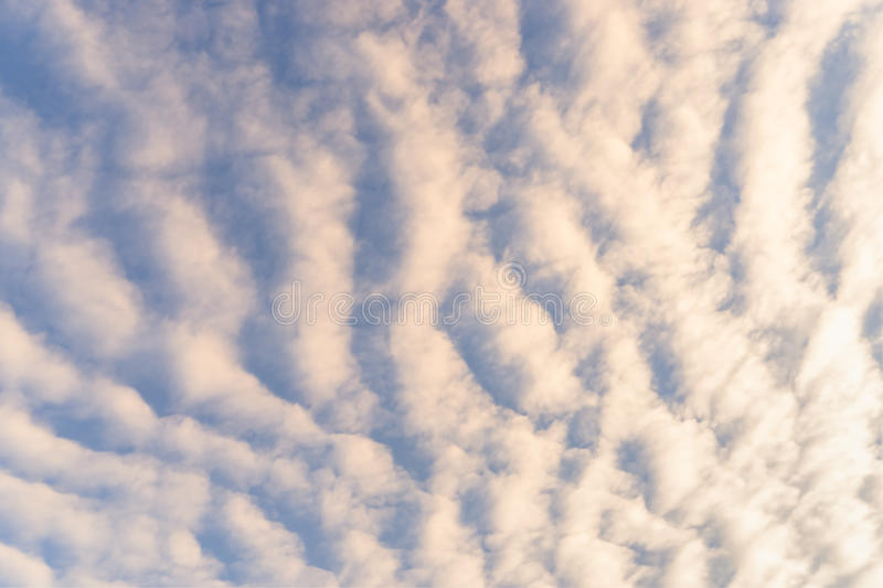 Rolling clouds. In day light royalty free stock photos