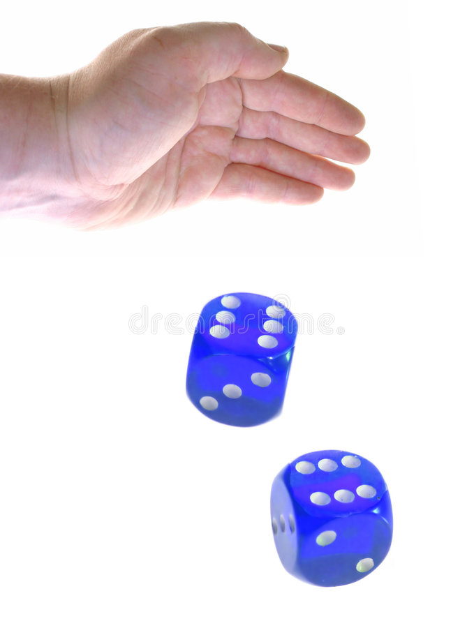 Free Rolling Dice Stock Image - 818411