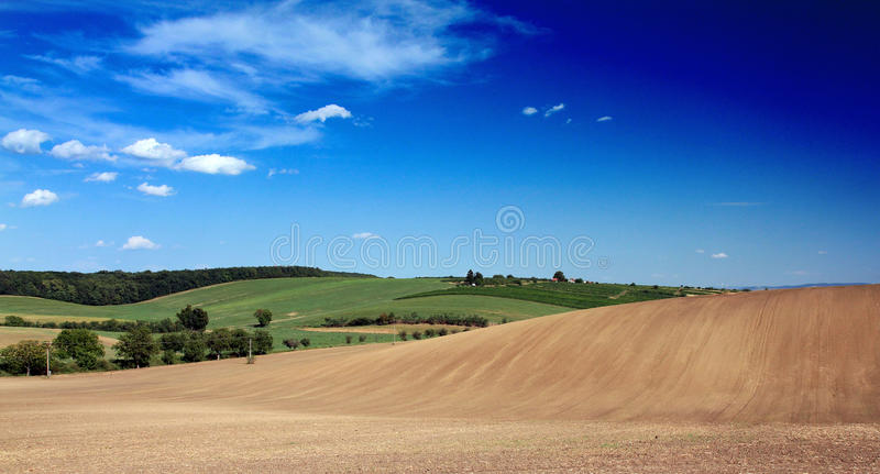 Download Rolling fields stock image. Image of summer, ground, rural - 26329421