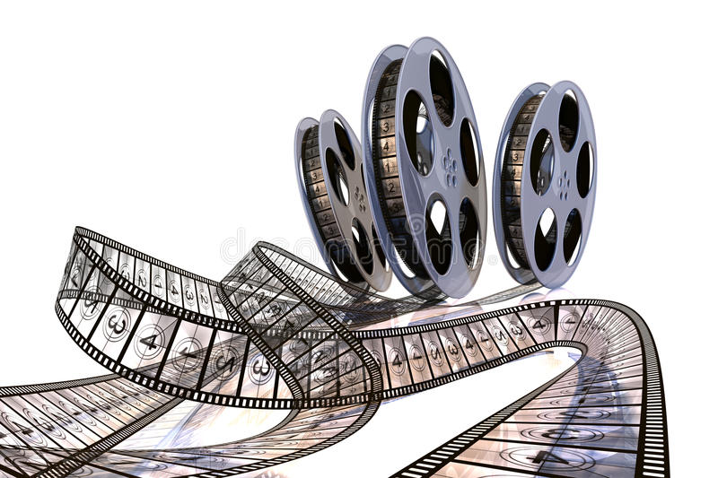 Download Rolling Films! Premiere Countdown! Stock Illustration - Image: 12243938