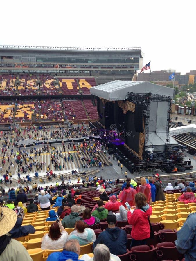 Rolling Stones-Konzert Minneapolis stockfoto
