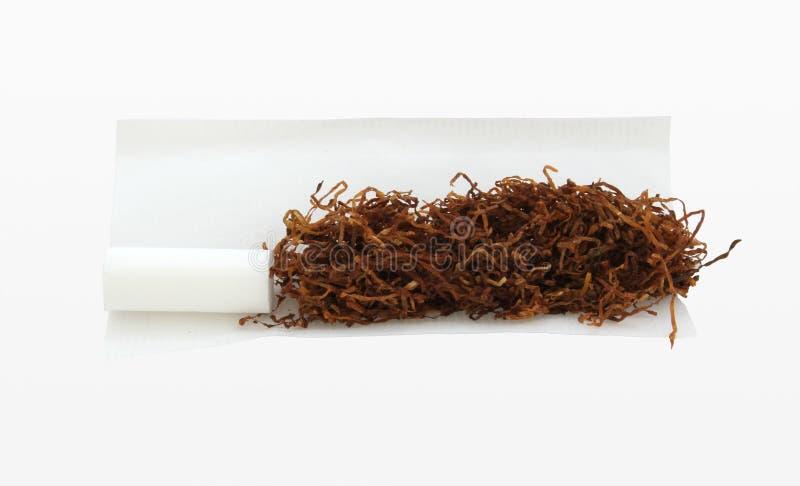 Rolling tabak royalty-vrije stock foto's