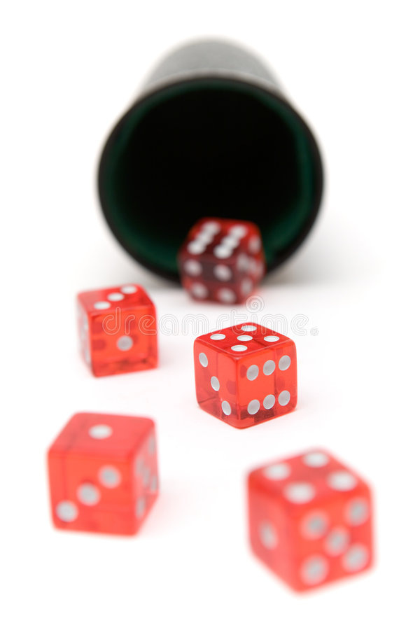 Free Rolling The Dice Royalty Free Stock Images - 2724669