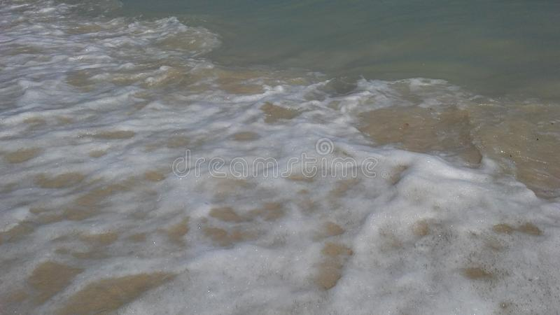 Rolling Waves at Chaweng Beach on Koh Samui Island, Thailand. Rolling Waves at Chaweng Beach on Koh Samui Island in Thailand stock images