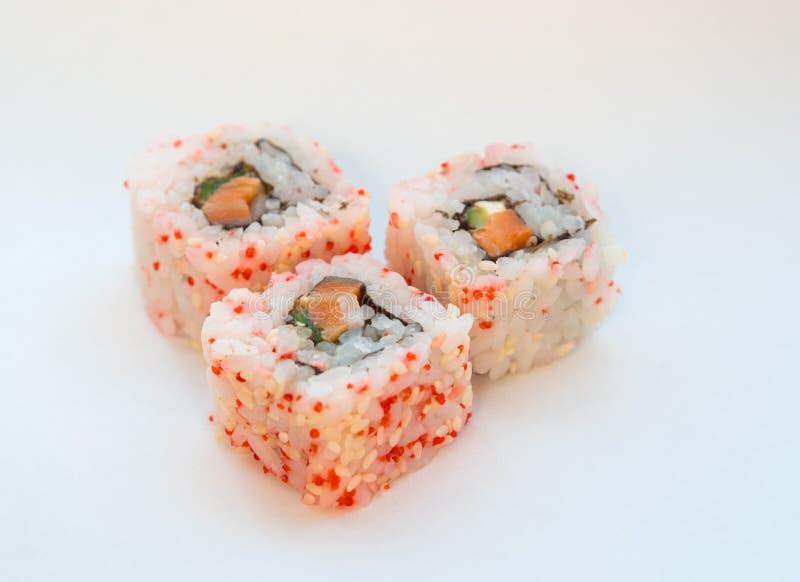 Rollo de California del sushi fotografía de archivo libre de regalías