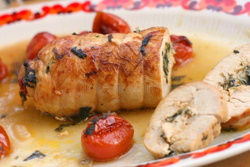 Rollo de carne de Turquía foto de archivo libre de regalías