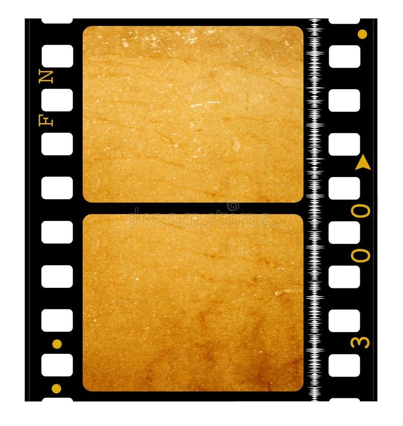 rollo de película de película de 35 milímetros ilustración del vector