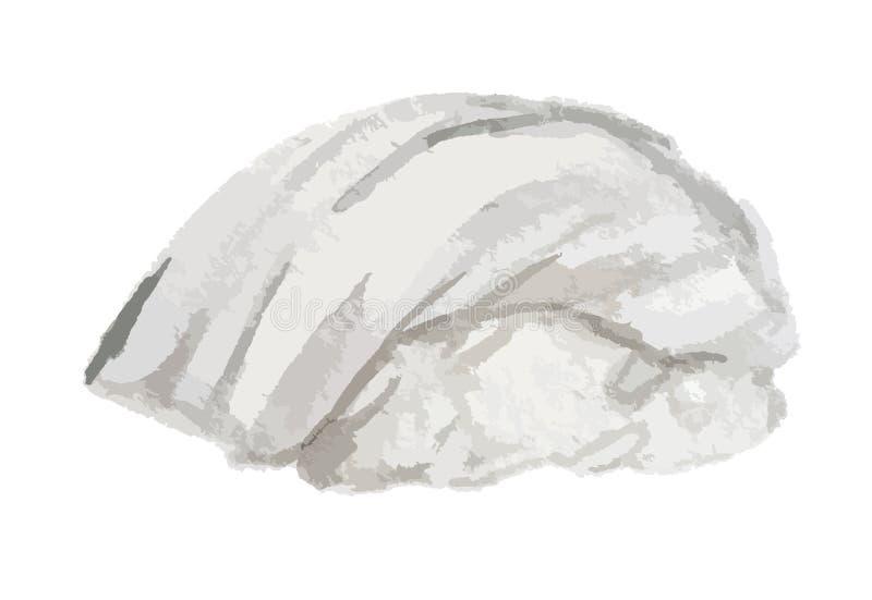 rollo de sushi de la acuarela libre illustration