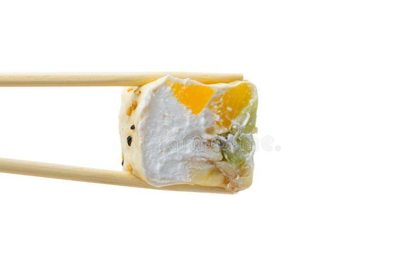 Rollo de sushi dulce imagen de archivo libre de regalías