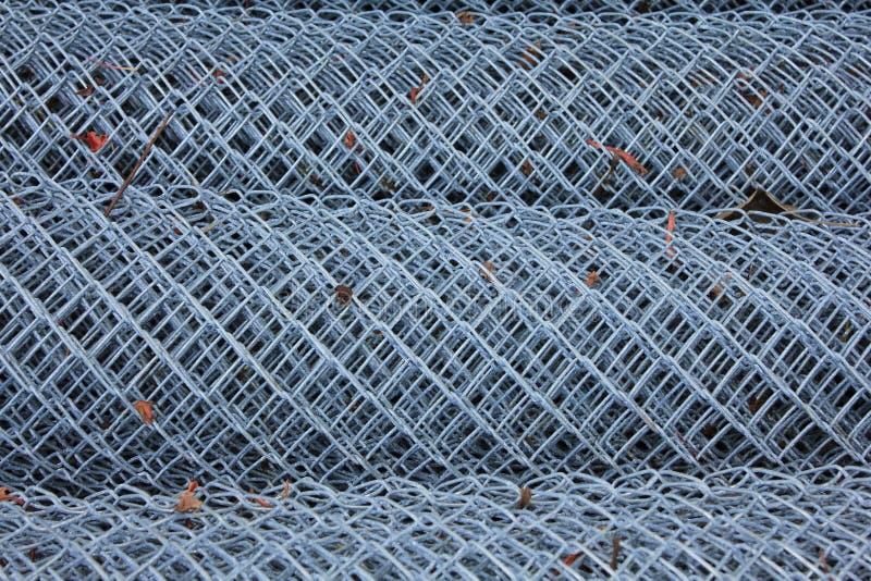 Rollo del alambre de aluminio fotos de archivo libres de regalías