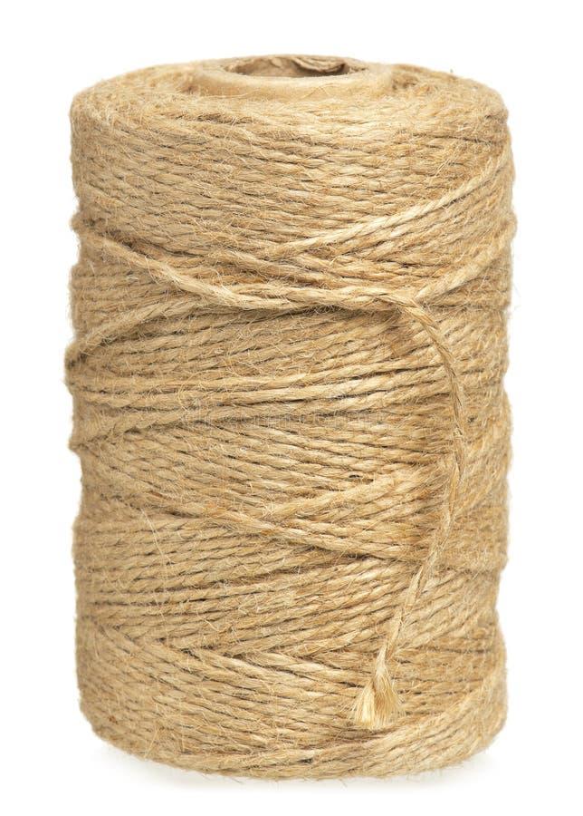 Rollo del cordón de la guita fotografía de archivo libre de regalías