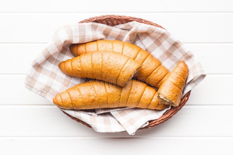 Rollos de pan salados imagenes de archivo