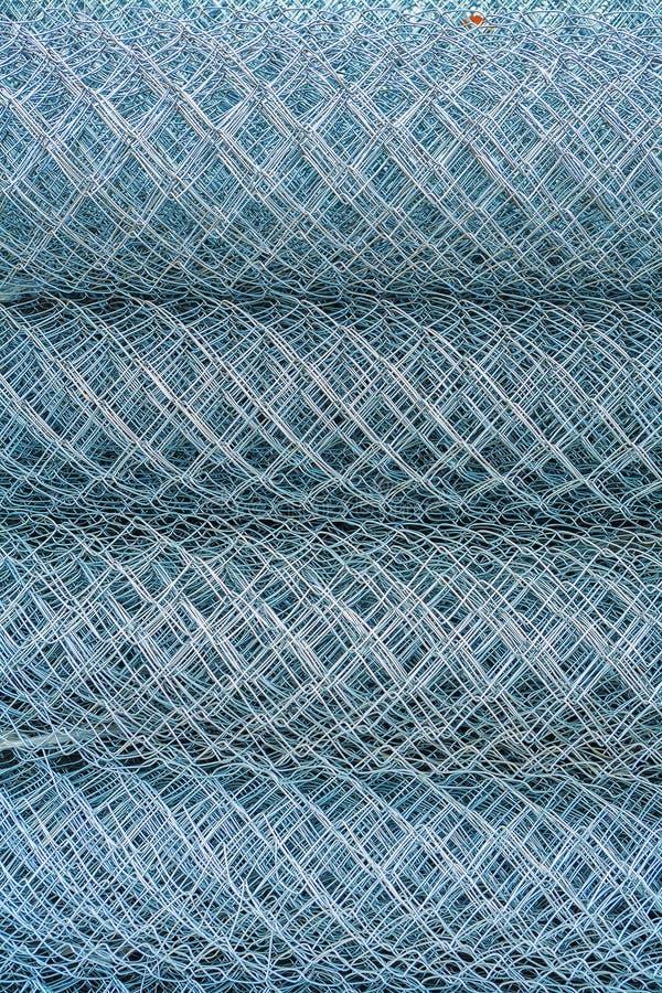 Rolls типа ткани rabitz гипсолита стал-провода стоковое изображение