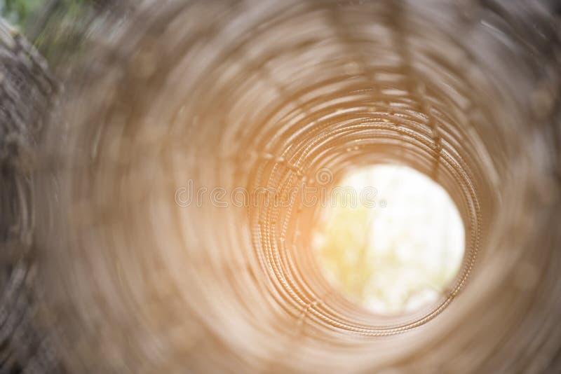 Rolls ячеистой сети Железная сталь стоковые изображения