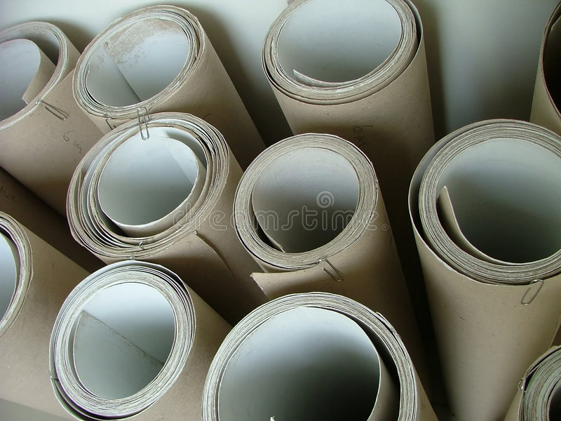 Download Rolls stock image. Image of round, hole, iten, parchment - 284653