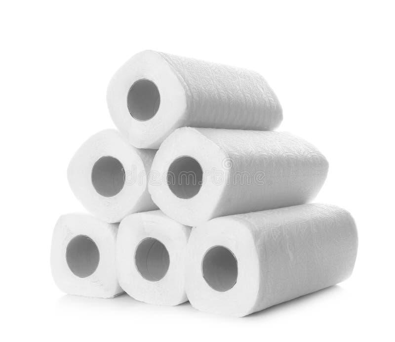 Rolls av pappers- handdukar arkivbilder