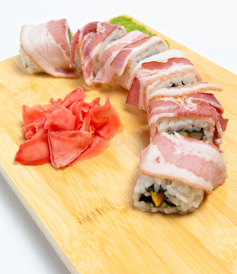 Download Rolls With Bacon Stock Photos - Image: 20803133