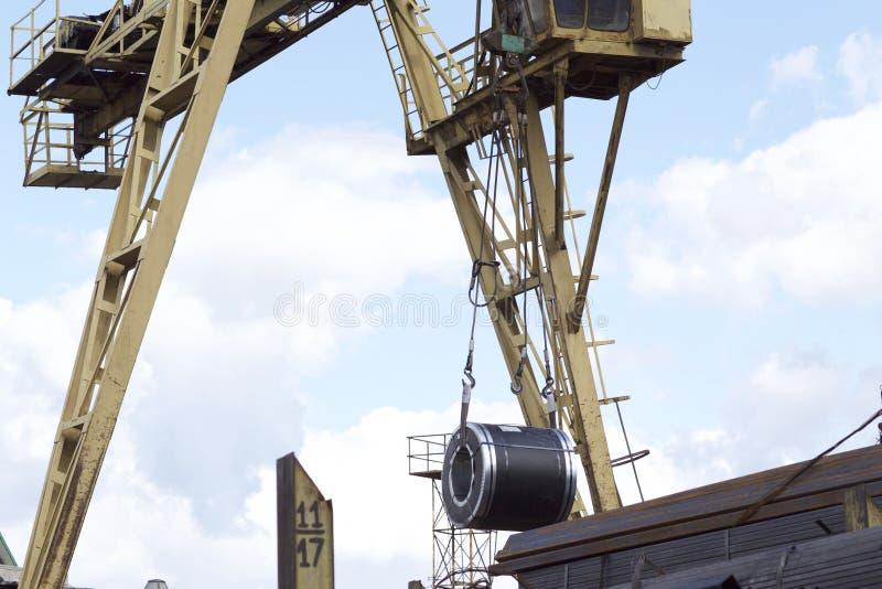 Rolls d'acier galvanisé laminé à froid avec le revêtement en polymère image libre de droits