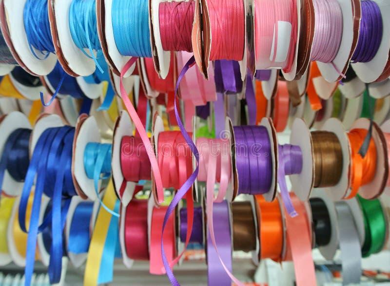 Rolls de la cinta coloreada imagen de archivo libre de regalías