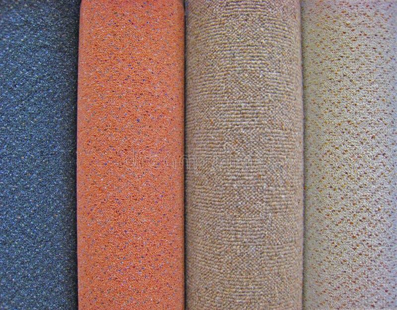 Rolls de tapis photo libre de droits