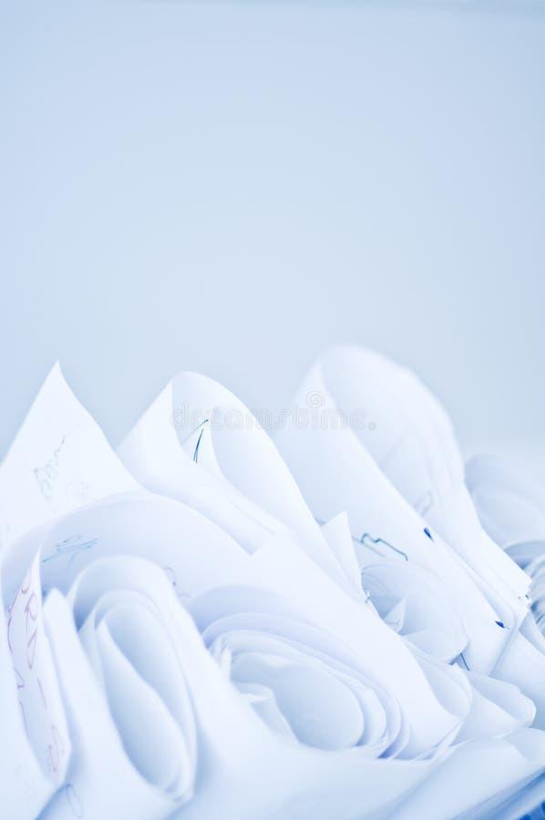 Rolls del papel imagen de archivo