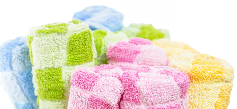 Rolls des serviettes II photographie stock