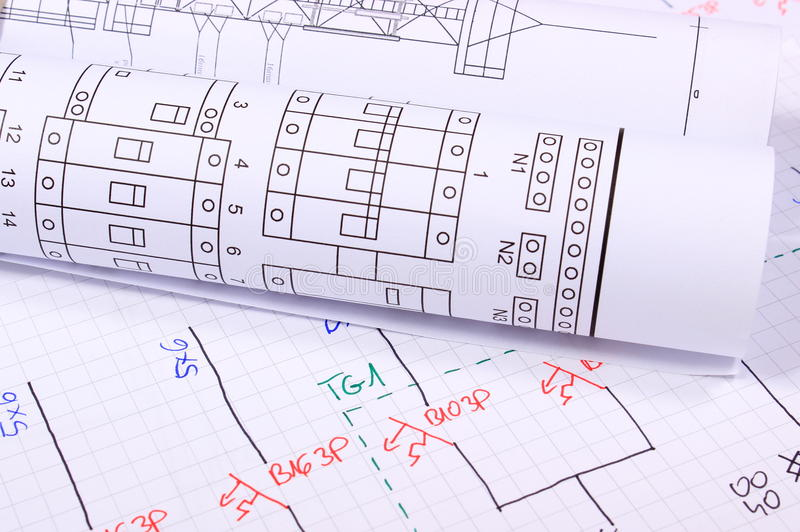 Rolls of electrical diagrams stock photo image of jobs blueprint download rolls of electrical diagrams stock photo image of jobs blueprint 48322550 malvernweather Image collections