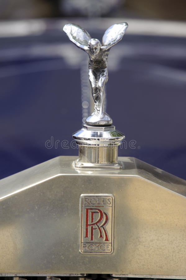 Rolls-$l*royce στοκ φωτογραφία με δικαίωμα ελεύθερης χρήσης