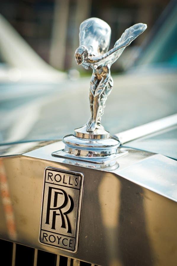 Rolls-$l*royce στοκ φωτογραφία
