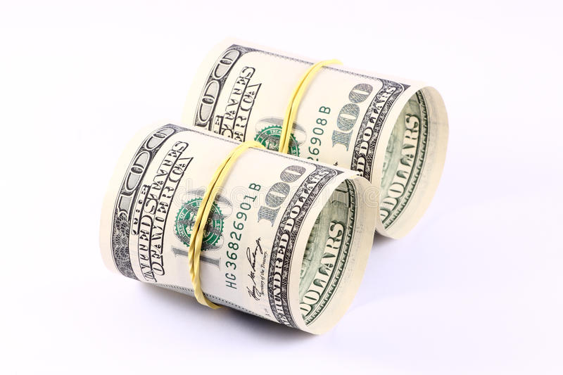 Download Rolls of Money stock photo. Image of concepts, band, dollar - 10519194