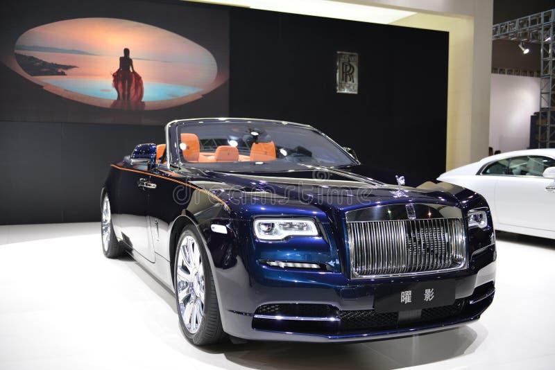 Rolls Royce świtu kabrioletu supercar obraz stock