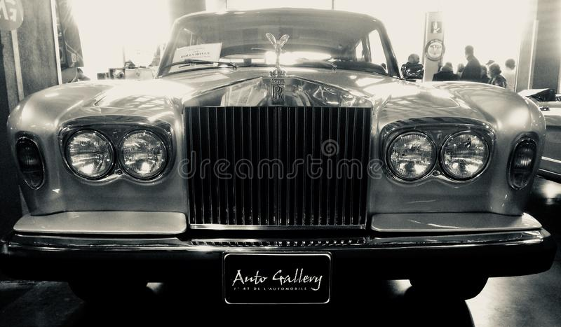 Rolls royce fotografia de stock