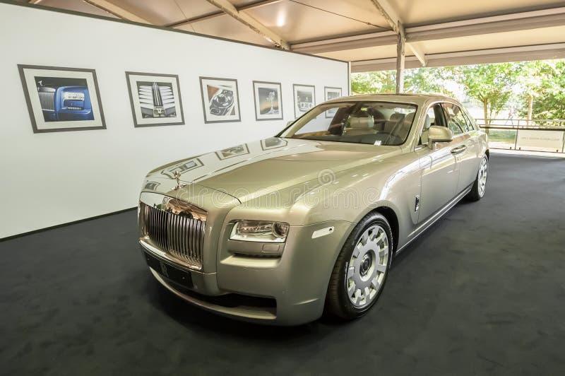 Rolls Royce royaltyfri bild